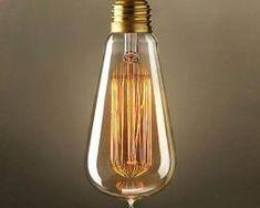 Úsporné LED, žiarovky a žiarivky s nízkou spotrebou energie Old Fashioned Light Bulbs, Modern Light Bulbs, Edison Lampe, Edison Lighting, Light In, Museum Displays, Globe Lights, Incandescent Bulbs, Messing