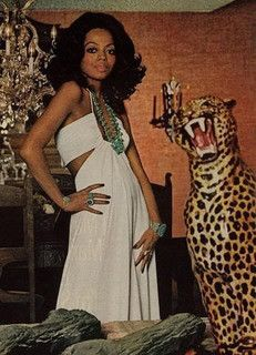 Singer Diana Ross(The Diva!)wearing a Creation of Halston and photographed by Willy Rizzo for Harper's Bazzar,April 1973.