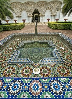 Moroccan Pavillion #1 by syafiqazim, via Flickr - beautiful design to shape.