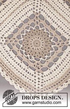 l'espace de lilas: Tuiles crochet géant pour des couvertures, des diagrammes / grands carrés au crochet pour les Afghans, des graphiques gratuits