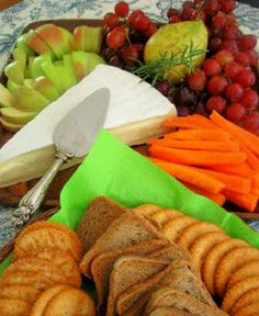 Frugal cheese platter