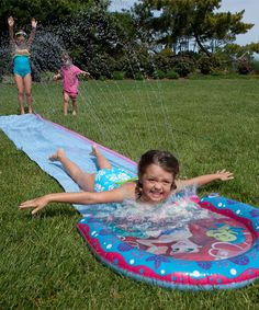 Take a look at this Blue & Purple The Little Mermaid Water Slide by Swimways on #zulily today!
