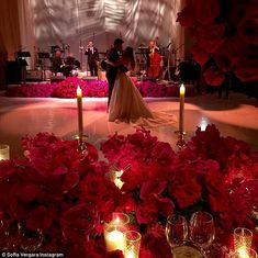 First dance: Joe and Sofia were shown enjoying their first dance as a married couple in another Instagram