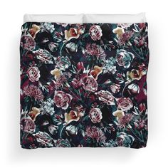 Available as T-Shirts & Hoodies, Men's Apparels, Women's Apparels, Stickers, iPhone Cases, Samsung Galaxy Cases, Posters, Home Decors, Tote Bags, Pouches, Prints, Cards, Leggings, Mini Skirts, Scarves, Kids Clothes, iPad Cases, Laptop Skins, Drawstring Bags, Laptop Sleeves, and Stationeries #baroque #roses #dark #flowers #homedecor #bedroom