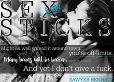 SEX IN THE STICKS A Love Hurts Novel SAWYER BENNETT RELEASE DAY – MAY 2, 2017 My musings… 4 Alaskan CROWNS Sawyer Bennett's first book in the Love Hurts series is everything readers hav…