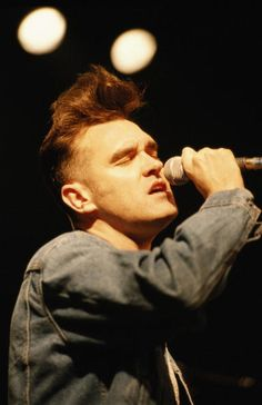 Morrissey during the 'Kill Uncle' era.