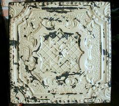 antique ceiling tin art