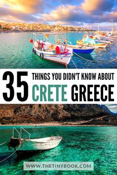 More than 35 Fun & Interesting Facts about Crete that will Surprise You! | The Tiny Book Europe Travel Guide, Travel Guides, Travel Destinations, Travel Tips, Fun Facts, Unique Facts, Interesting Facts, Greek Pantheon, Nobel Prize In Literature