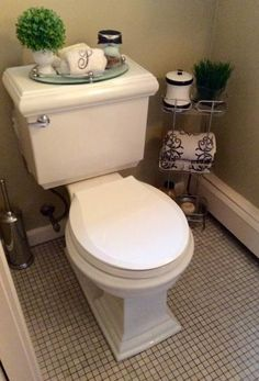 Conserve water with a high-performance flush by choosing this KOHLER Memoirs Classic Round Toilet with AquaPiston Flushing Technology in White. Restroom Decor, Bathroom Styling, Gray Bathroom Decor, Small Bathroom Decor, Bathroom, Toilet, Luxury Bathroom, Bathrooms Remodel, Bathroom Decor