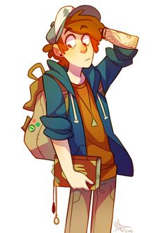 Because grown up Dipper is the awesome Dipper... did I mention I was their age when the show started... meaning years wise he'd probably be sixteen by now (Despite the fact that the show ended a few months ago and they were '13'...)
