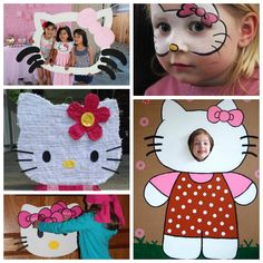 Hello Kitty Party Activities Games Photo Booth Pinata