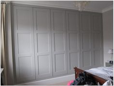 Oblong Panelled wardrobe