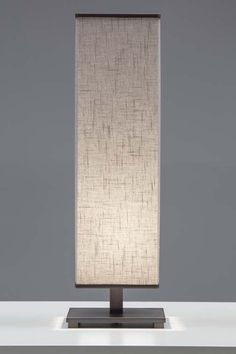 Sybil vertical table lamp burnished