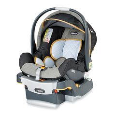 The Chicco KeyFit 30 Infant Car Seat is the premier infant carrier for safety, comfort, and convenience. It has a removable newborn insert and a thickly cushioned seat with a 5-point safety harness.