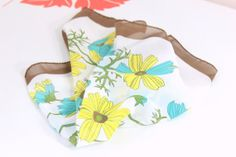 Vintage 60's Nasharr Scarf Large Mod Summer by foundundertheeaves, $16.00