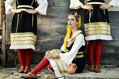 Serbian traditional clothes take very important place in Serbia culture. There are many details which make them look more beautiful and richer. And every region have different traditional clothes.  Photo by morialord