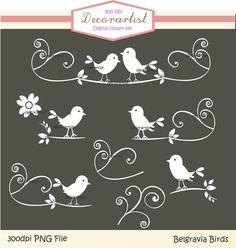bird silhouette clip art | Clip art bird, Silhouette black and white Belgravia bird collection