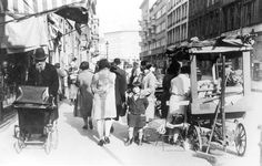 Berlin, Germany, 1933, A street scene in the Jewish Quarter. The evil will be sadly upon these people shortly.