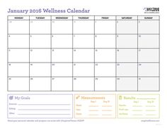Use this workout calendar to keep track of your activity plans per day and establish some benchmarks so you can see your progress in ways beyond weight!