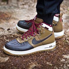 Nike Air Force 1 Duckboot (braun / schwarz) - 43einhalb Sneaker Store Fulda