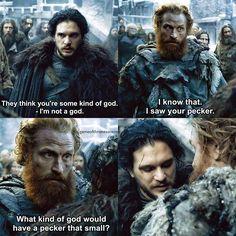 Tormund.. What did you guys think about episode 3? #GameOfThrones #GoTSeason6 #GoT #JonSnow