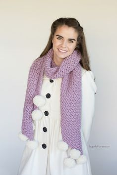 Hopeful Honey   Craft, Crochet, Create: Wisteria Vine Scarf - Giveaway   Crochet Pattern