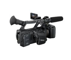 Sony HXR-NX5U XR Professional Camcorder....Camera I used while interning with MetroTV. I could really do my producer thing with this!
