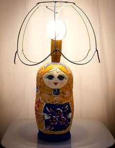 babooshka, lamp by S