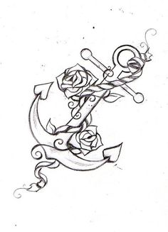 anchor tattoo idea | Anchor Tattoos