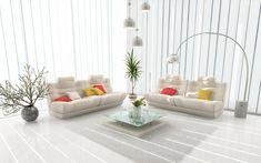 Wohnzimmer Dekorieren U2013 50 Ideen Mit Kissen, Bilder, Vorhänge U0026 Mehr