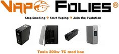 #Tesla 200w TC #mod #box authentique – 80.44€