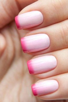 Nail art is a very popular trend these days and every woman you meet seems to have beautiful nails. It used to be that women would just go get a manicure or pedicure to get their nails trimmed and shaped with just a few coats of plain nail polish. French Tip Nail Designs, Valentine's Day Nail Designs, French Tip Nails, Simple Nail Designs, French Tips, Nails Design, Nail Designs With Hearts, Valentine Nail Designs, French Polish
