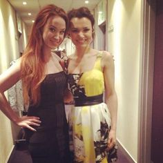 Sierra Boggess and Samantha Barks