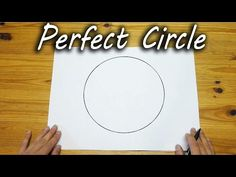 How To Draw A Perfect Circle-FREEHAND - http://www.wisediy.com/how-to-draw-a-perfect-circle-freehand/