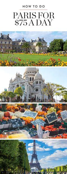 How to Do Paris for $75 a Day via @PureWow