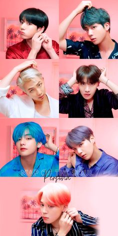 BTS map of soul persona Version 2