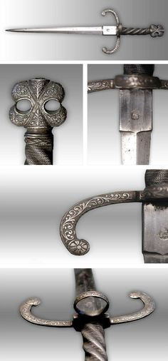 Left hand dagger, Italy in the late 16th century