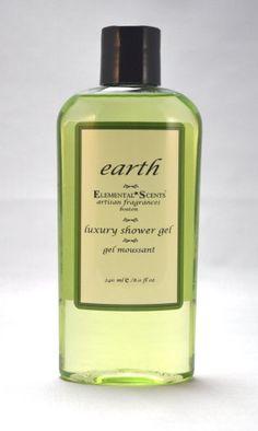 EARTH Shower & Bath Gel  250 ml/80 oz by #elementalscents on Etsy