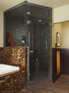 Amazing design around tub