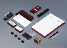 Diseño de imagen corporativa de C&M Consultores.  By #FusiónCreativa