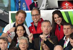 Prince Harry, Prince William, and Kate Middleton were the cutest trio at the Rugby World Cup.