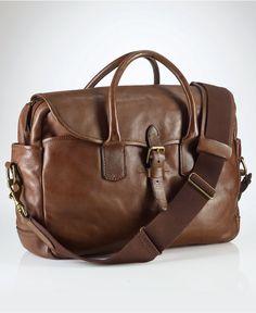 Polo Ralph Lauren Bag, Core Leather Commuter Bag - Shop All Polo Ralph Lauren - Men - Macys