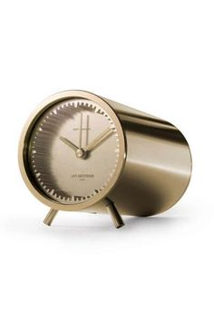The Tube Clock's aesthetically pleasing sleek metal and quirky elongated design makes it a wonderfully stylish timepiece for any space. Buy now!