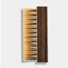 Jason Markk Premium Shoe Cleaning Brush: The Jason Markk Premium Brush is made from a hand crafted walnut wood handle and is made of soft hog's hair for delicate materials like suede, mesh, cotton canvas and more.