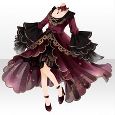 Drawing Anime Clothes, Dress Drawing, Anime Outfits, Girl Outfits, Cute Outfits, Fashion Design Drawings, Fashion Sketches, Vetements Clothing, Style Feminin