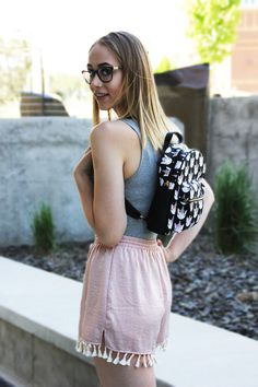 e775ac87ffc Get ready for festival season with a backpack and some flowy shorts.