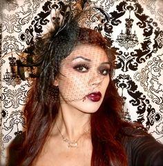 sexy vampire halloween makeup tutorial . Halloween makeup