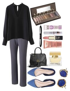 """""""Work #31"""" by sarah-stoner-1 on Polyvore featuring Apt. 9, Urban Decay, L'Oréal Paris, Avenue, Dolce&Gabbana and Far + Wide Collective"""