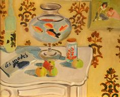 The Goldfish Bowl  Henri Matisse (French, Le Cateau-Cambrésis 1869–1954 Nice) by renzodionigi, via Flickr