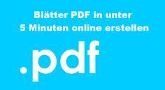 Die meisten Menschen kennen das Problem, dass sie viele PDFs auf ihrem Computer beheimaten, aber in der Regel nur wenig damit anfangen können. Auch müssen wir an dieser Stelle sagen, dass es sicherlich nervig erscheint, wenn diese PDFs so viel Platz kosten und jedes Mal einzeln abgerufen werden müssen. Denn dank dem Artikel, wie man kostenlos ein blätterbares PDF erstellen kann, geht es alles viel schneller, flexibler und kostenfreier.